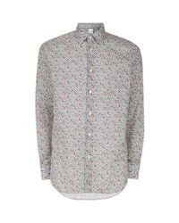 Paul Smith - Multicolor Floral Print Shirt for Men - Lyst