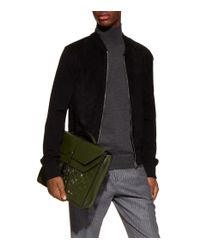 Bottega Veneta - Green Intrecciato Briefcase for Men - Lyst