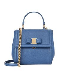 Ferragamo | Green Small Carrie Shoulder Bag | Lyst