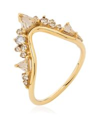 Fernando Jorge - White Fusion Large Wave Ring - Lyst