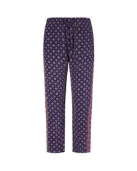 Joie | Blue Dedire Paisley Trousers | Lyst