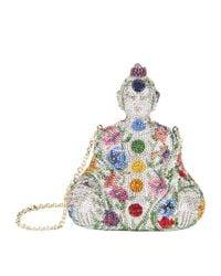 Judith Leiber - Metallic Buddha Minaudire Clutch - Lyst