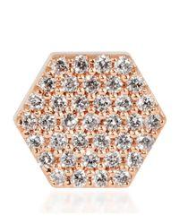 Bee Goddess - Multicolor Queen Bee Honeycomb Earring - Lyst
