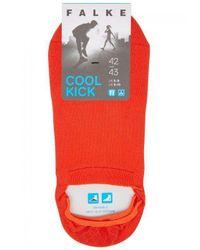 Falke - Cool Kick Orange Sports Socks for Men - Lyst