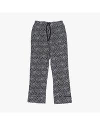 Les Girls, Les Boys - Gray Classic Pyjama Bottom (girls) - Lyst