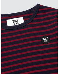 WOOD WOOD - Blue Kim L/s T-shirt for Men - Lyst