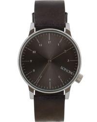 Komono - Black Winston Regal Watch - Lyst