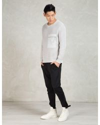 Blood Brother - Gray Grey Capture Knit for Men - Lyst