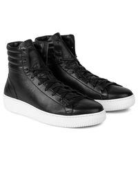 Facto - Black Saturn Portofino High Top Sneakers for Men - Lyst