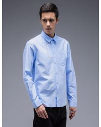 Carven - Multicolor L/s Oxford Shirt With Embroidery for Men - Lyst