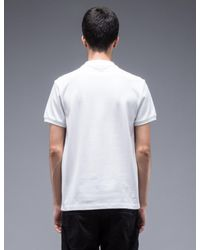Carven | Black S/s Polo Shirt With Pocket for Men | Lyst