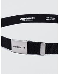 Carhartt WIP - Black Clip Belt for Men - Lyst