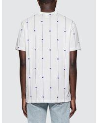 Champion - White Allover Logo S/s T-shirt for Men - Lyst