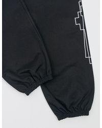 Marcelo Burlon   Black Talca Pants for Men   Lyst