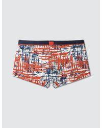 Calvin Klein - Orange Calvin Klein Id Micro Low Rise Trunk for Men - Lyst