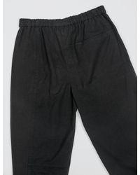 3.1 Phillip Lim - Black Mixed Canvas Patchwork Trousers for Men - Lyst