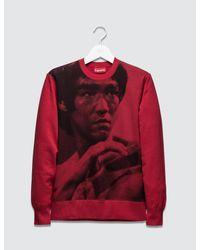 9ea7c94dfecf Lyst - Supreme Bruce Lee Crewneck in Red for Men