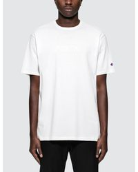 "Champion - White Beams X Champion ""north"" S/s T-shirt for Men - Lyst"