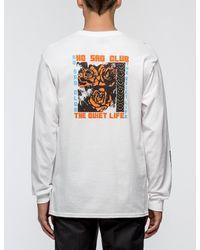 The Quiet Life - White No Sad Club L/s T-shirt for Men - Lyst