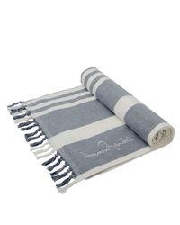 Henri Bendel | Blue Heritage Terry Towel | Lyst