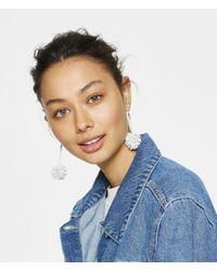 Henri Bendel - White Area Stars Jenna Starburst Earring - Lyst