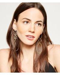 Henri Bendel - Metallic Luxe Claremont Chandelier Earrings - Lyst