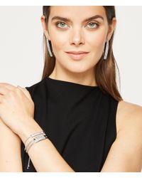 Henri Bendel - Metallic Luxe Elements Plaque Hinged Bracelet - Lyst