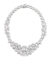 Henri Bendel - Multicolor Black Tie Gala Cluster Necklace - Lyst