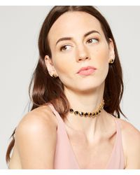 Henri Bendel - Metallic Hex Bolt Choker - Lyst