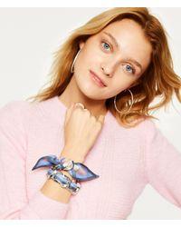 Henri Bendel - Multicolor Chain Link Bracelet & Scarf Holder - Lyst
