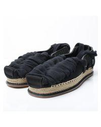 KTZ - Lace Up Flat Shoes Black for Men - Lyst