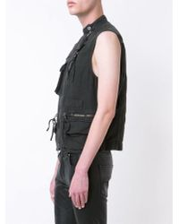 Haider Ackermann - Multicolor Stonewashed Cotton Gilet for Men - Lyst