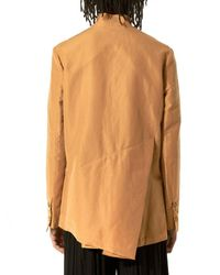 BED j.w. FORD - Multicolor Asymmetric Button-down Shirt - Lyst
