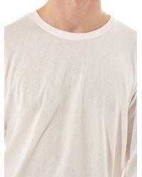 Issey Miyake - White Long Sleeve Tee for Men - Lyst