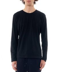 Issey Miyake - Blue Long Sleeve Tee for Men - Lyst