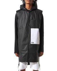 Y-3 | Black Windbreaker Vest for Men | Lyst