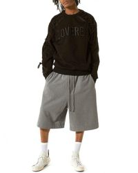 Juun.J | Black Paratrooper Crewneck Pullover for Men | Lyst