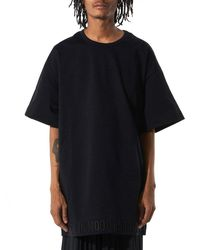 Juun.J | Black Oversized Tee for Men | Lyst