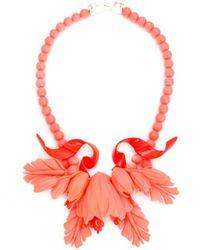 EK Thongprasert - Multicolor Floral Necklace - Lyst