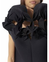 Junya Watanabe - Black Architectural Collar Dress - Lyst