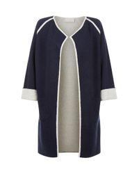 Hobbs | Blue Emmy Knit Jacket | Lyst