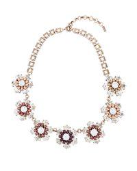 Hobbs | Black Fleur Necklace | Lyst