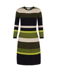 Hobbs | Multicolor Fern Stripe Dress | Lyst