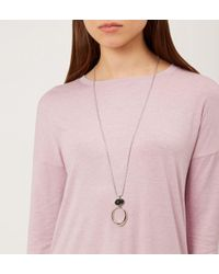 Hobbs - Metallic May Necklace - Lyst