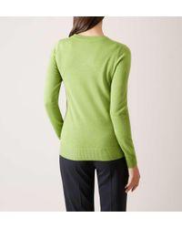 Hobbs - Green Penny Sweater - Lyst