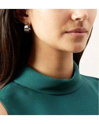 Hobbs - Metallic Sara Earrings - Lyst