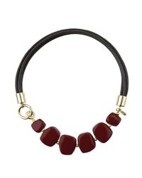Hobbs - Red Naomi Necklace - Lyst