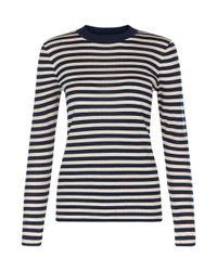 Hobbs | Blue Tara Sweater | Lyst