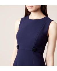 Hobbs - Blue Polly Dress - Lyst