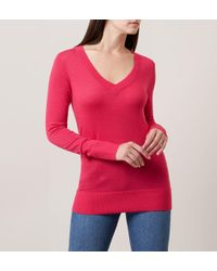 Hobbs - Pink Cherry Sweater - Lyst